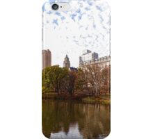 New York City Central Park Living - Impressions Of Manhattan iPhone Case/Skin