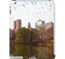 New York City Central Park Living - Impressions Of Manhattan iPad Case/Skin