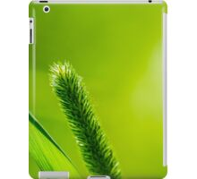 Green Grass And Sun - Praise the new day iPad Case/Skin