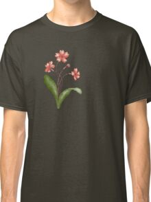 flower art 5 red Classic T-Shirt
