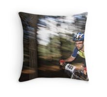 Pine Forest Dash Throw Pillow