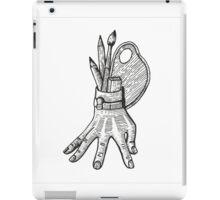 creative hand iPad Case/Skin