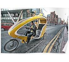 Cycle Taxi Poster
