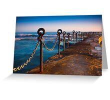 Ocean Baths Newcastle Greeting Card