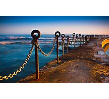 Ocean Baths Newcastle Photographic Print