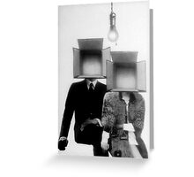 MR AND MRS BOXHEAD Greeting Card