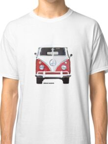 Splitty VW Bus Front Red Classic T-Shirt