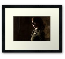 Tanya Wheelock as Peggy Carter (Photography by Sean William / Dragon Ink Photography) Framed Print