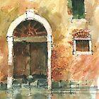 Old Door Venice by djones