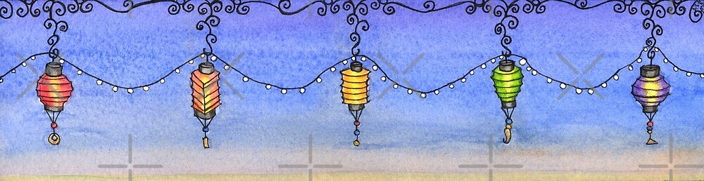 Paper Lanterns by Amy-Elyse Neer