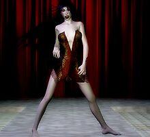 vampire fashion show by Cheryl Dunning