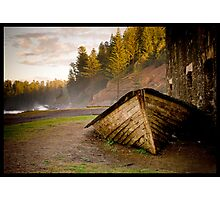 Norfolk Lighter Boat Photographic Print
