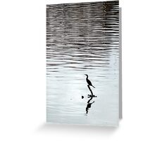 Water bird Greeting Card