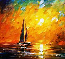 Dusk Of Nature — Buy Now Link - www.etsy.com/listing/226848434 by Leonid  Afremov