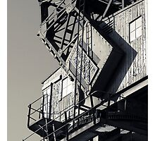 Docklands Crane Photographic Print
