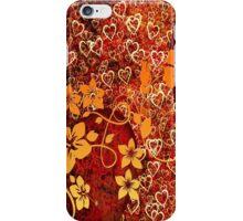 Bronze Hibiscus Garden iPhone Case/Skin