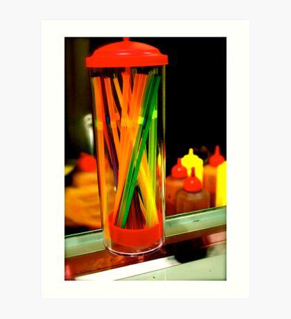 Colour Jar Art Print