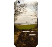 Muddy track  iPhone Case/Skin