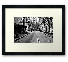 Atlanta Street Framed Print