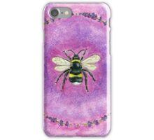Lavender Bee iPhone Case/Skin