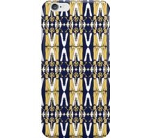 weeping angel pattern iPhone Case/Skin