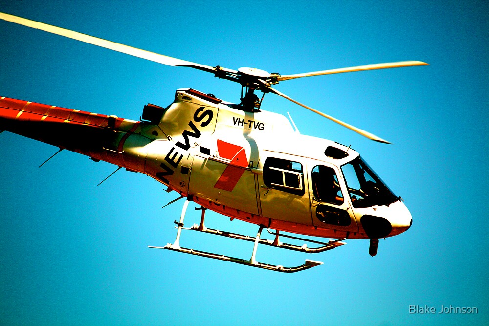 7 News chopper by Blake Johnson