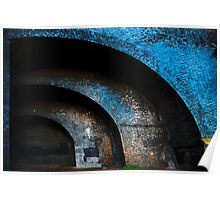 Concentric Arches Poster