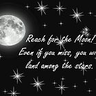 Reach for the Moon- Card by ArkansasLisa