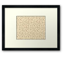 Forest Sweethearts Line pattern Framed Print