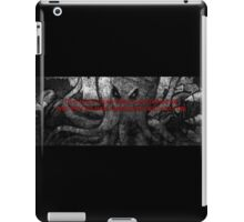 That is not dead which can eternal lie... iPad Case/Skin