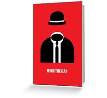- Mind The Gap Note Card - Greeting Card