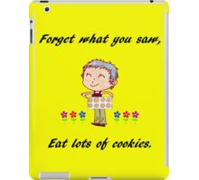 Carol's cookies iPad Case/Skin