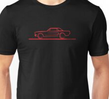 1964 65 66 Ford Mustang Hard Top Unisex T-Shirt
