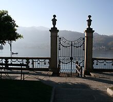 Misty morning at Orta Lake by sstarlightss