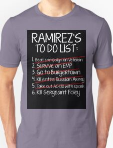 Ramirez's To-Do List T-Shirt