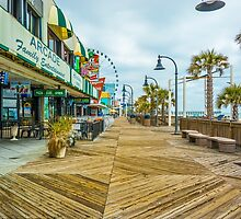Myrtle Beach Boardwalk by Tami Kull