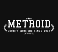 Metroid - Retro White Clean by garudoh