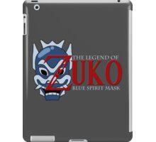 The Legend of Zuko - Blue Spirit Mask iPad Case/Skin