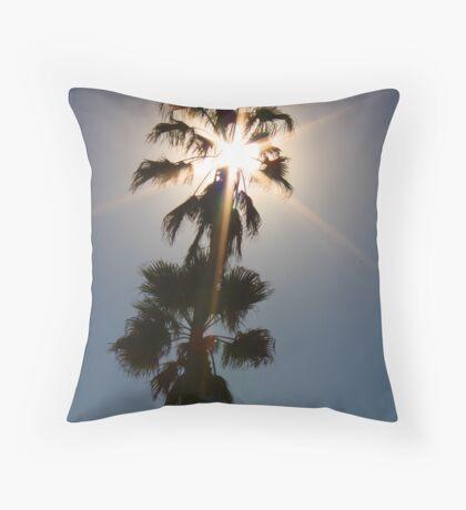 """Sunburst"" Throw Pillow"