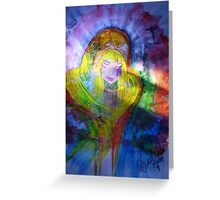 Mary Holy Mother of Jesus Greeting Card