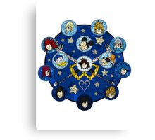 Kingdom Hearts - Connections Canvas Print