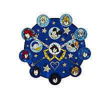 Kingdom Hearts - Connections Photographic Print
