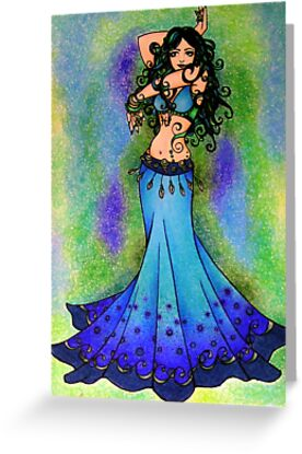 Pisces Belly Dancer by lacychenault