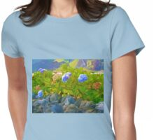 Painted Hyacinth Womens Fitted T-Shirt
