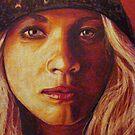 Heidi- Detail #5 by Susan Bergstrom