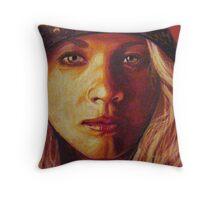 Heidi- Detail #5 Throw Pillow