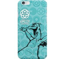 Teal EPCOT Center Figment iPhone Case/Skin