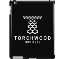 torchwood institute iPad Case/Skin