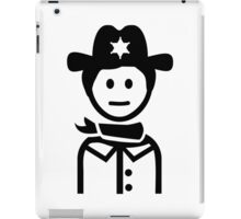 Sheriff uniform iPad Case/Skin