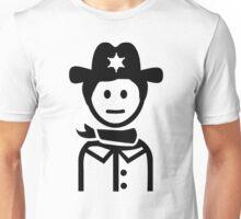 Sheriff uniform Unisex T-Shirt
